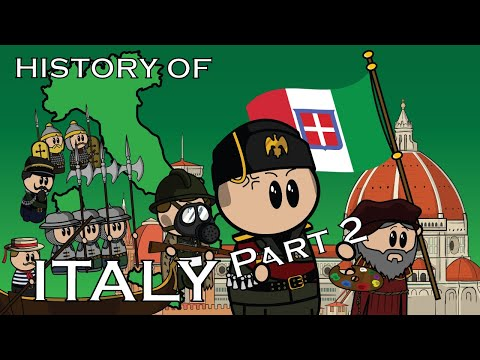 The Animated History of Italy   Part 2