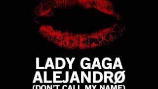 Lady GaGa Alejandro Header S Disco Remix
