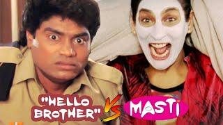 आप अच्छे अच्छों को हिला डालते है .. नाक के बाल जला डालते है | Lo mejor de la comedia Hello Brother V / S Masti