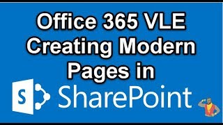 Office 365 SharePoint Online Modern Pages  - Web part highlighted content how to create School VLE