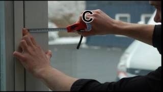 Aufmaßvideo: Maßnehmen für den PROSECURAL® Vorsatzrahmen / Vorsatzfenster DIY