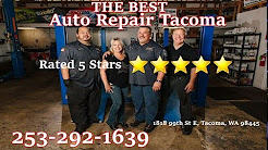 Tacoma automotive repair- The best auto care in Tacoma and Lakewood Wa