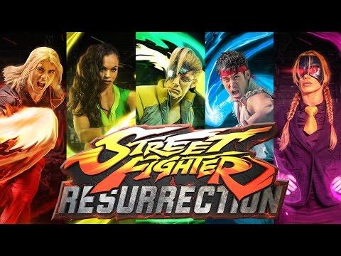 Alain Moussi on Street Fighter: Resurrection!