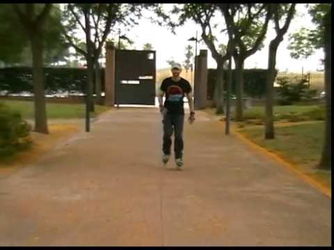 Hướng dẫn patin - Cách phanh chữ T dài chân