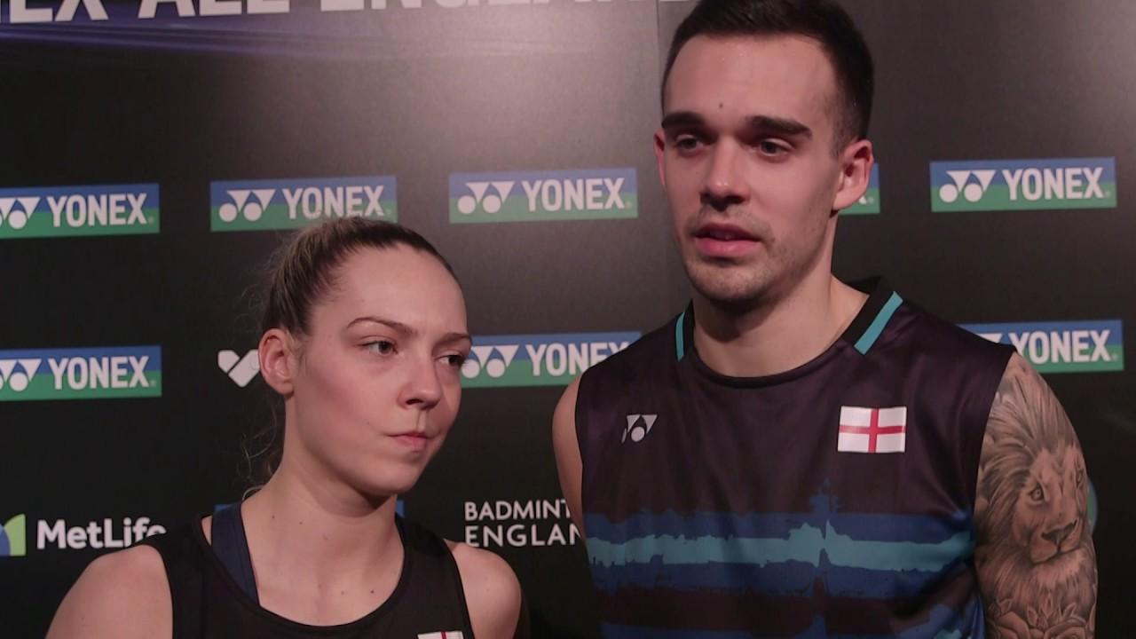 Yonex All England Championships Chris & Gabby Adcock narrowly