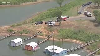 Mom and son pulled from Grapevine Lake