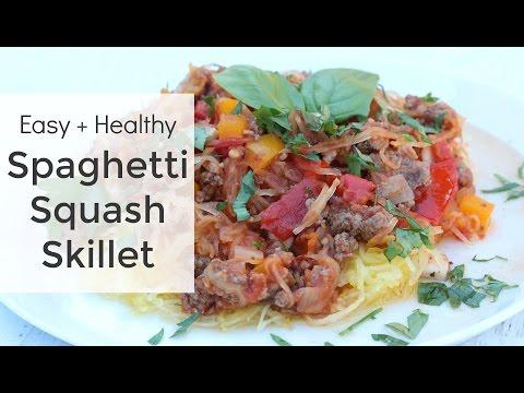 Spaghetti Squash Recipe | Simple Skillet Meal