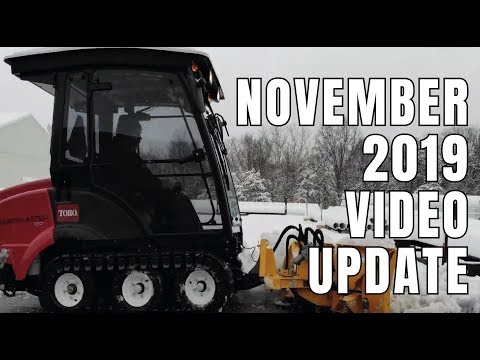 November 2019 Video Update From Turf Equipment And Supply Company