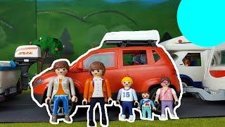 PLAYMOBIL Film deutsch MEGA STAU AUF DER AUTOBAHN / Familie Bauer im Urlaub Teil 1, Kinderfilm