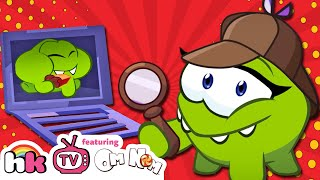 Om Nom Stories: DETECTIVE Dream Job | Cut the Rope | Cartoons for Children just for Laughs