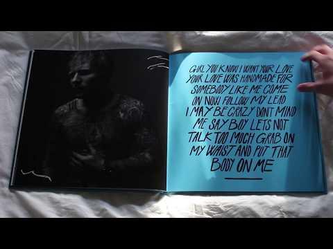 Ed Sheeran - Divide, Deluxe Vinyl Package Unboxing