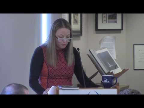 Western Libraries Reading Series: Poetry After Auschwitz (Alfers)