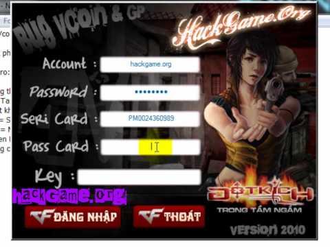 Hack Vcoin GP CrossFire VTC 2010 HackGame.Org