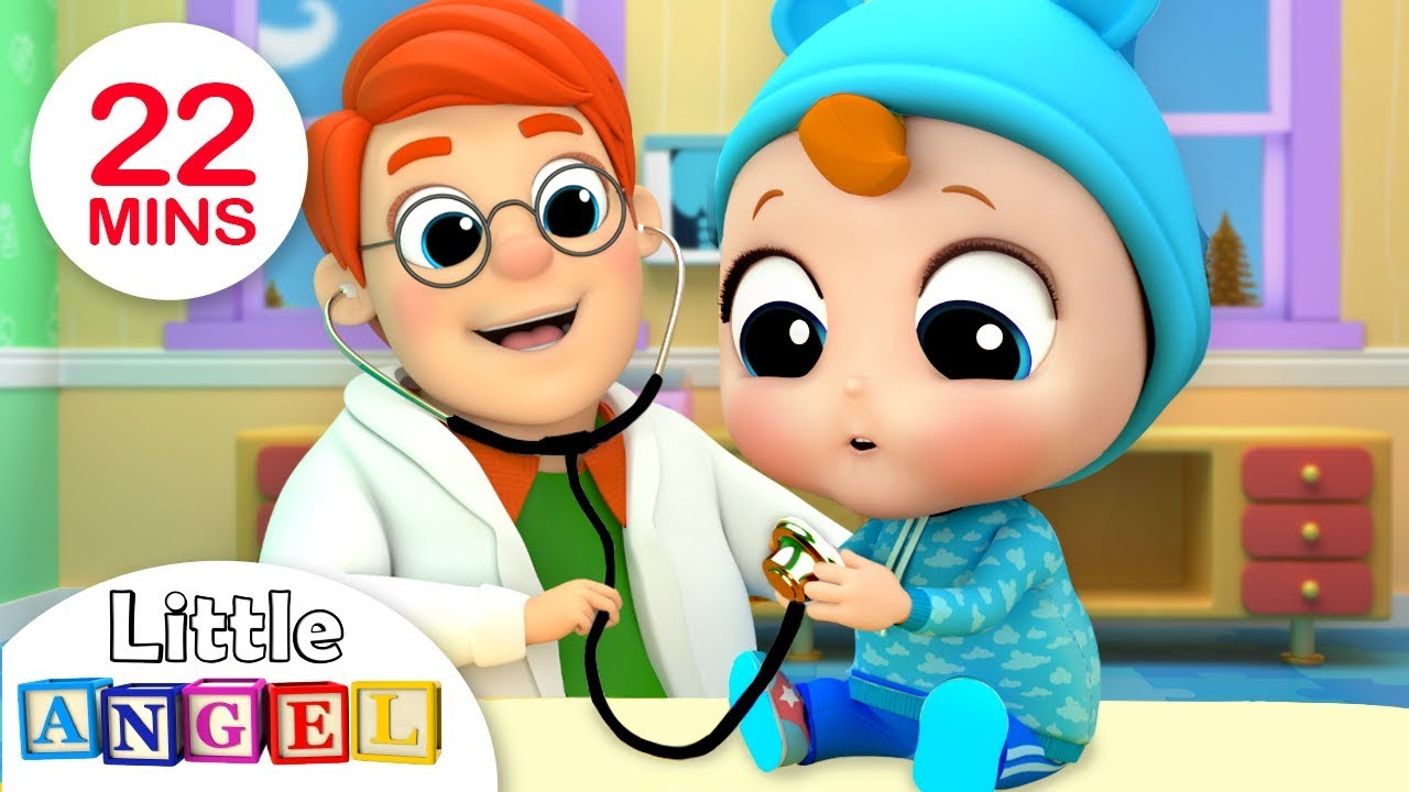 Babys Visit To The Doctor | Nursery Rhymes by Little Angel