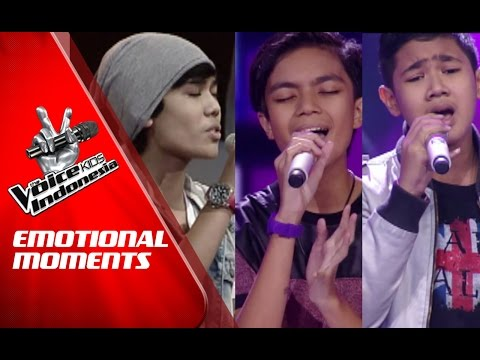 Emotional Moments | The Blind Auditions | The Voice Kids Indonesia GlobalTV 2016