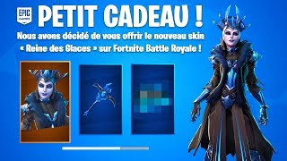 "HAVE THE SKIN ""REINE OF GLACES"" FREE ON FORTNITE! (competition)"