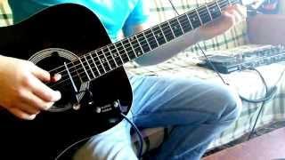 Танцы минус - Половинка (fingerstyle guitar Владимир Голубев), FREE TABS