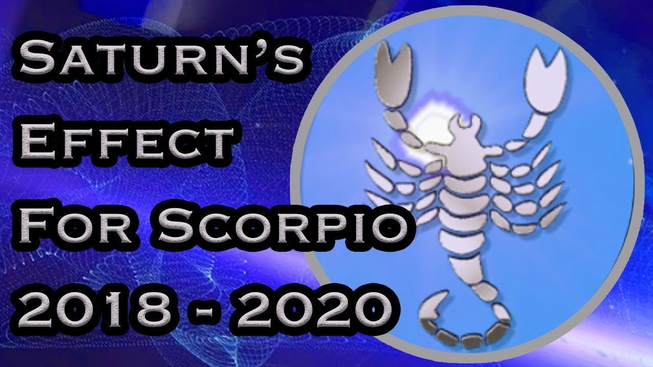 Scorpio Yearly Horoscope | Saturn's Transit For Scorpio Yearly Horoscope  From 2018 - 2020 In Hindi