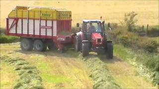 Kilmean Farms N.I Silage Highlights 2011