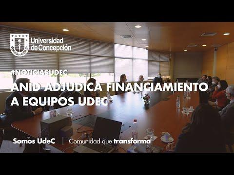 #NoticiasUdeC: ANID adjudica financiamiento a equipos UdeC
