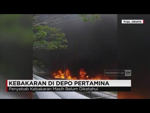 Kebakaran Melanda Depo Pertamina Koja Mp3