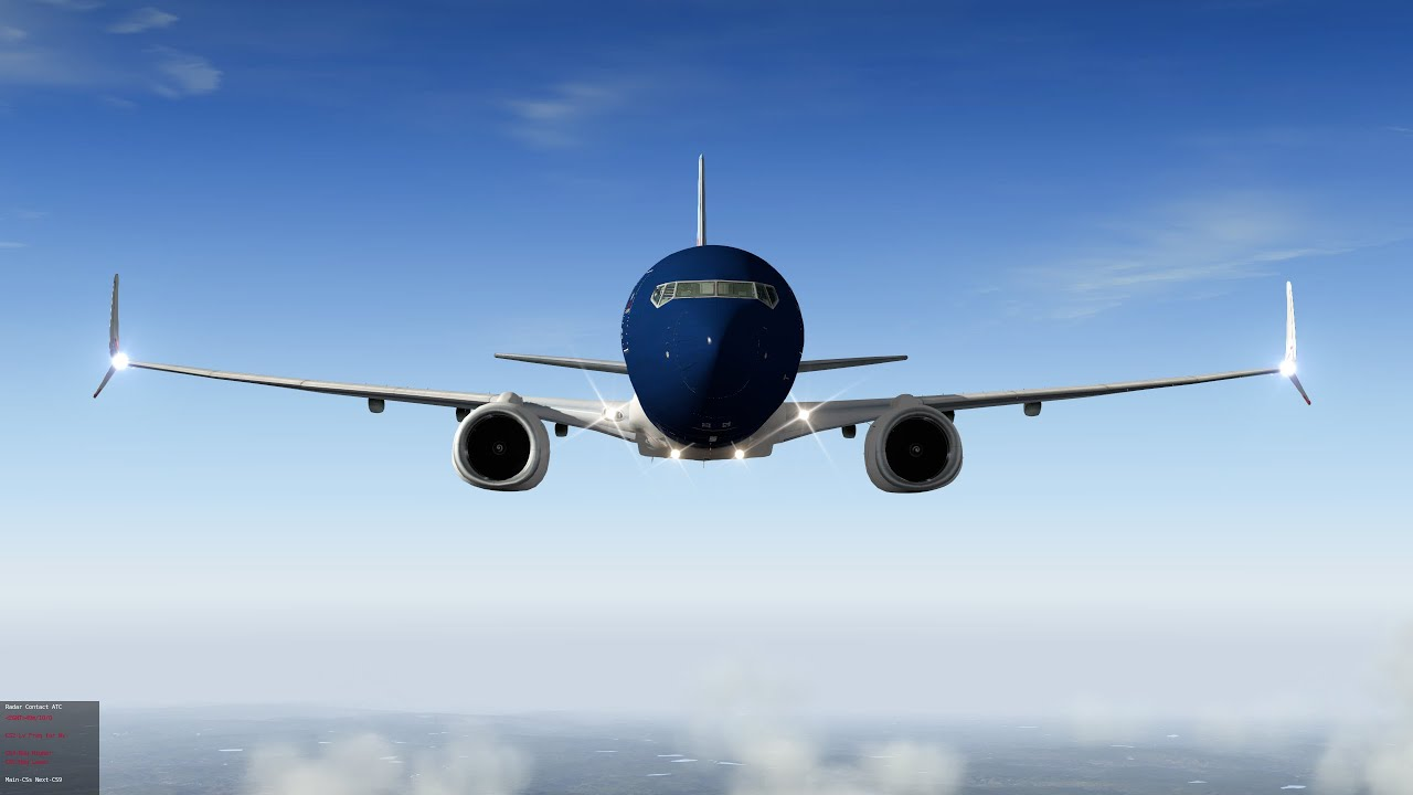 X Plane EADT x737project v5 with Multi Crew Experience