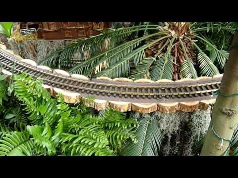 Bronx Botanical Garden Train Show - YouTube