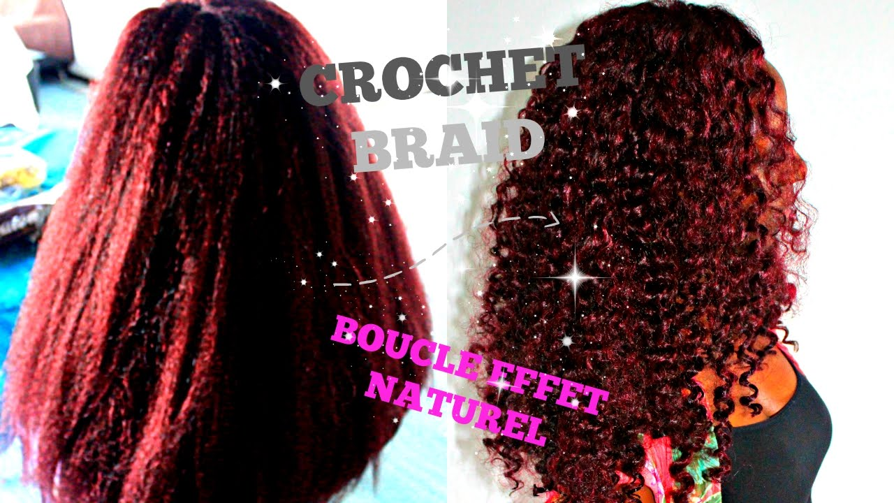 Tutoriel Crochet Braid Meches Jumbo Braid Crochet Braid Jumbo Braid Hair Youtube