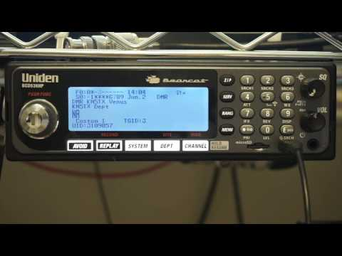 BCD536HP Scanning and Receiving DMR One-Frequency Systems