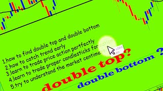 Forex double top and double bottom trading strategy