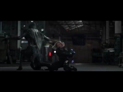 "Black Widow vs Corvus Glaive Avengers Infinity War - Nuevo Promo ""Gone"