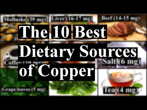 The 10 Best Dietary Sources of Copper