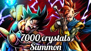 7000 CRYSTAL SUMMON ON THE NEW UST #18 , DRAGON BALL LEGENDS.