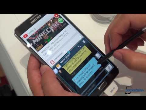 Galaxy Note 3 New S-Pen Features: Deep Dive from IFA 2013 | Pocketnow