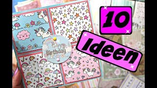 Baixar Karten basteln mit Papier für verschiedene Anlässe | 9999 Dinge Bastelideen mit Papier