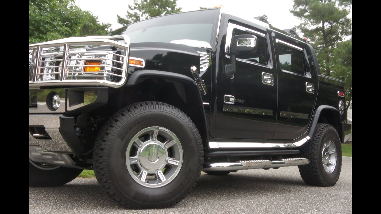 2007 Hummer H2 SUT For Sale ONLY 1800 Miles Navigation Moon Loads