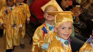 Twins Preschool Graduation