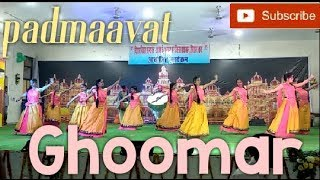 GHOOMAR-padmaavat (group dance) On the occassion of BIHAR DIWAS SAMAROH