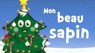 Mon beau sapin (comptine de Noël avec paroles)