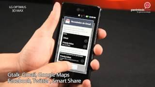 Celular LG Optimus 3D Max (P720)