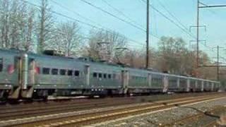 Amtrak and SEPTA Action Sunday, November 26, 2006