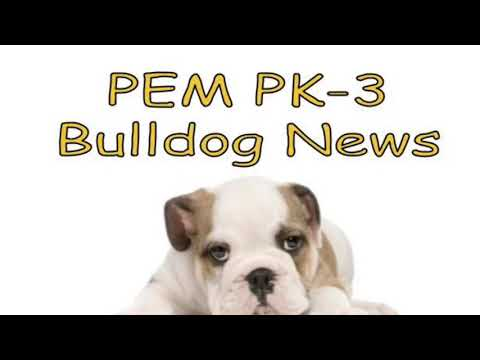 2018-10-17 PEM PK-3 Bulldog News