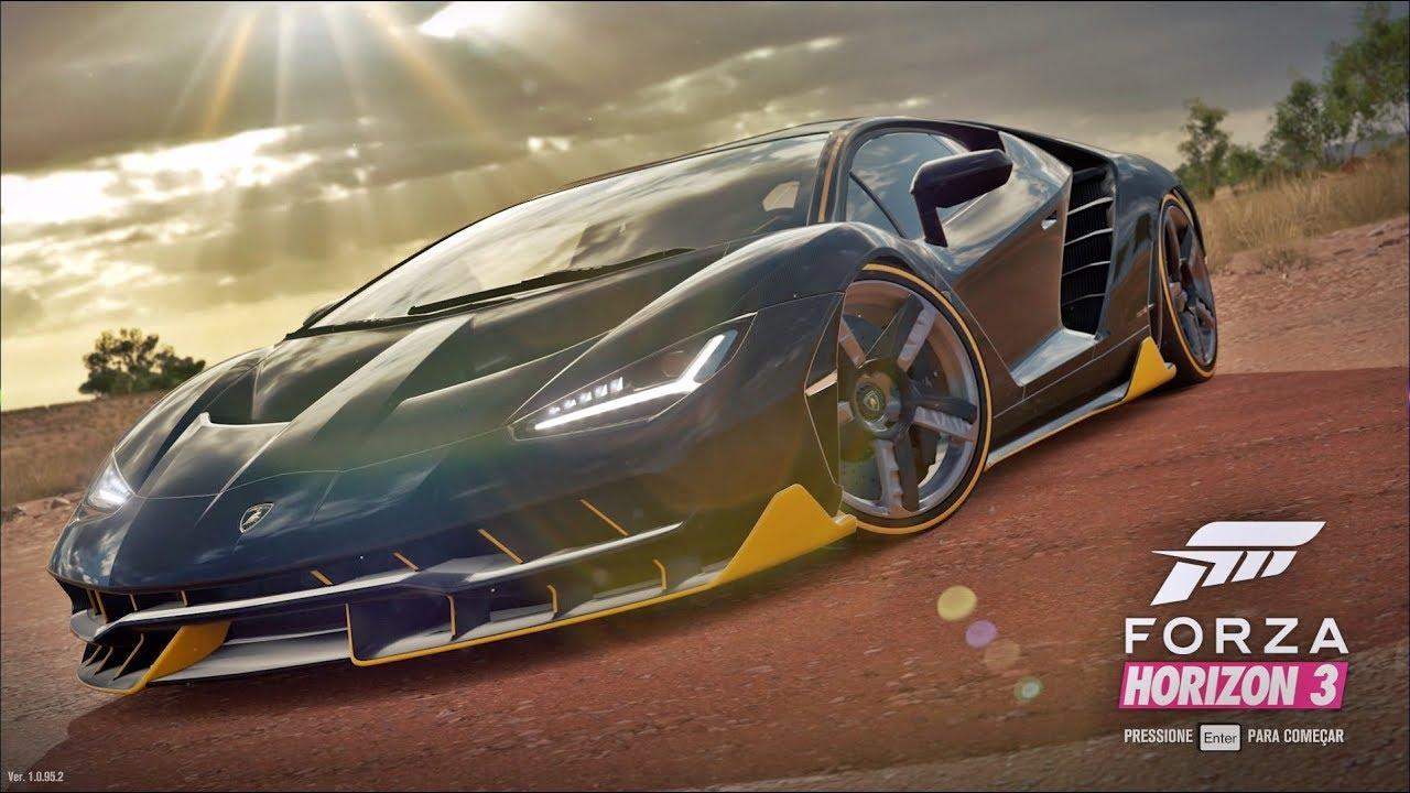 Forza Horizon 3 Comprei Uma Lamborghini Centenario Youtube