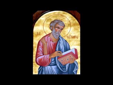 Saint Matthew the Evangelist and Apostle