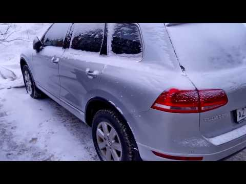 Холодный пуск Volkswagen Touareg 3.6 cold start