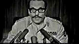 General Zia ul Haq declaring Marshal Law(Man up General Kayani,PackupTraitors)