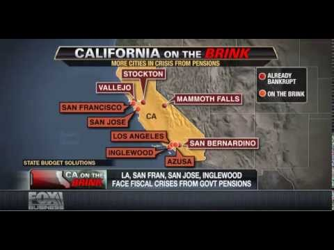 State Budget Solutions on Fox Business News - California Pension Crisis