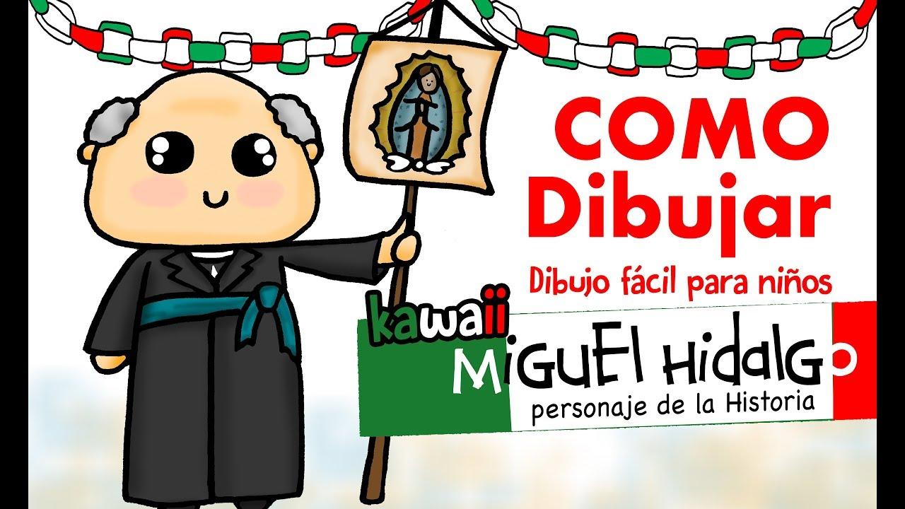 Como Dibujar A El Cura Hidalgo How To Draw Miguel Hidalgo