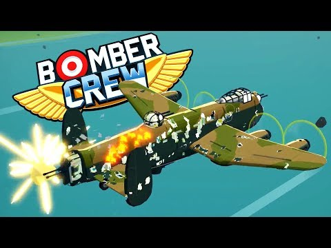CARPET BOMBING AN AIRFIELD! BOMBER SIMULATOR MEETS TYCOON GAME!? - Bomber Crew Early Access Gameplay