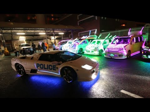 The Japan Underground Lamborghini Halloween Run